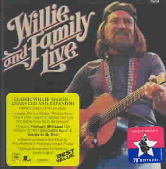 WILLIE NELSON & FAMILY LIVE BY NELSON,WILLIE (CD)