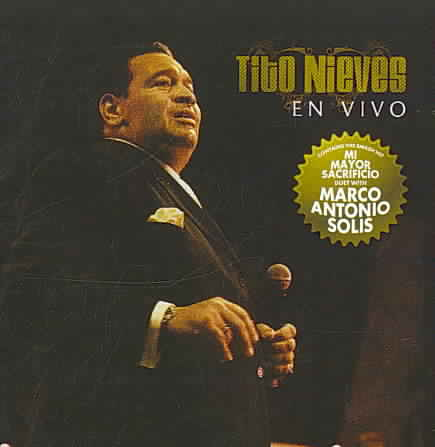 TITO NIEVES EN VIVO BY NIEVES,TITO (CD)
